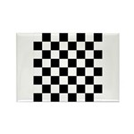 Chess Checker Board Rectangle Magnet (10 pack)