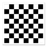 Chess Checker Board Square Car Magnet 3