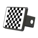 Chess Checker Board Rectangular Hitch Cover