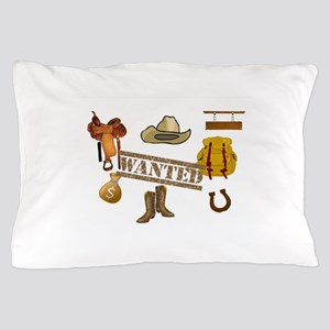 WANTED - WESTERN LOVERS Pillow Case