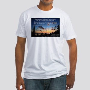 Good Person Fitted T-Shirt
