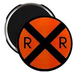 RR Crossing Sign Magnet