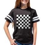 Chess Checker Board Youth Football Shirt