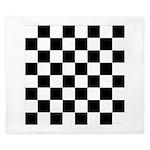 Chess Checker Board King Duvet