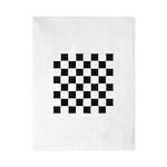 Chess Checker Board Twin Duvet Cover