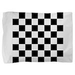Chess Checker Board Pillow Sham
