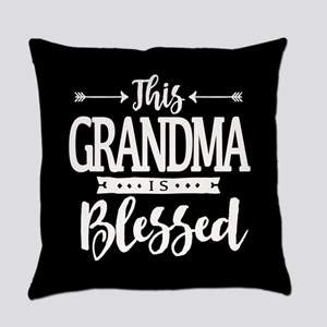 Blessed Grandma Everyday Pillow