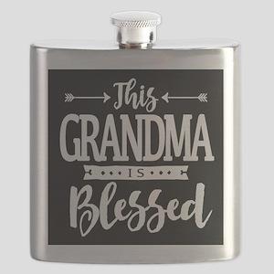Blessed Grandma Flask