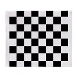 Checker pattern Throw Blanket