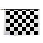 Checker pattern Makeup Bag