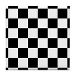 Checker pattern Tile Coaster