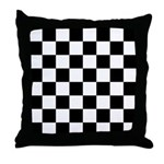 Checker pattern Throw Pillow