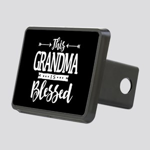 Blessed Grandma Rectangular Hitch Cover