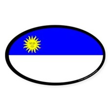 Atenveldt Ensign Oval Sticker