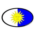 Atenvelt Populace Oval Sticker (10 pk)