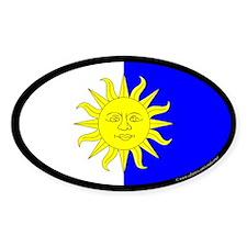 Atenvelt Populace Oval Sticker