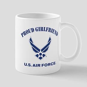 Proud US Air Force Girlfriend Mug