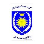 Kingdom of Atenveldt Rectangle Sticker 50 pk)