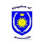 Kingdom of Atenveldt Rectangle Sticker 10 pk)