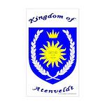 Kingdom of Atenveldt Rectangle Sticker