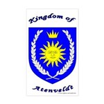 Kingdom of Atenveldt Rectangle Sticker