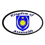 Kingdom of Atenveldt Oval Sticker (10 pk)