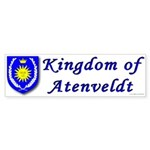 Kingdom of Atenveldt Bumper Sticker (10 pk)