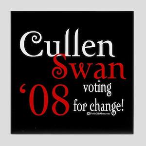 Cullen / Swan '08 Tile Coaster