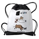 safe a life funartz Drawstring Bag
