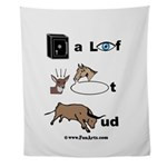 safe a life funartz Wall Tapestry