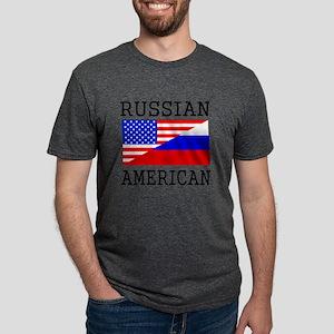 Russian American Flag T-Shirt