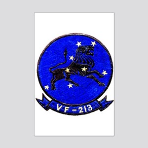 VF 213 Black Lions Mini Poster Print