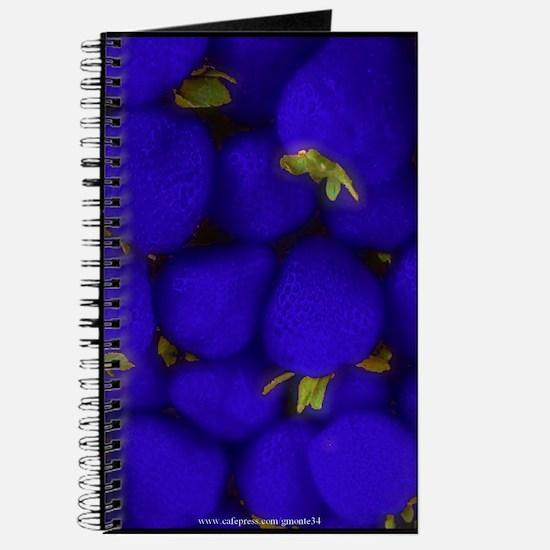 Blue Strawberry Blank Recipe Book 1