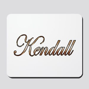 Gold Kendall Mousepad