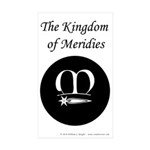 Meridies Populace Sticker (Rectangle 50 pk)