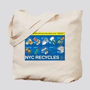 NYC Recycles Tote Bag