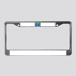 NYC Recycles License Plate Frame