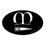 Meridies Populace Sticker (Oval 50 pk)
