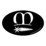 Meridies Populace Sticker (Oval 10 pk)