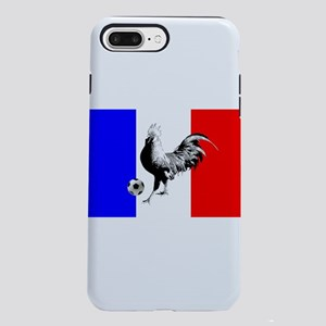 French Football Flag iPhone 8/7 Plus Tough Case