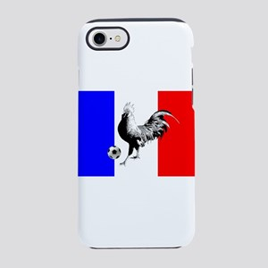 French Football Flag iPhone 8/7 Tough Case