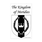 Kingdom of Meridies Rectangle Sticker