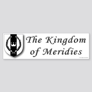 Kingdom of Meridies Bumper Sticker