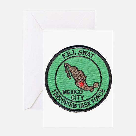 FBI SWAT Mexico City Greeting Card