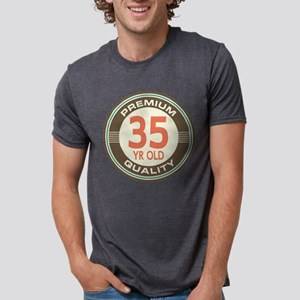 35th Birthday Vintage White T-Shirt