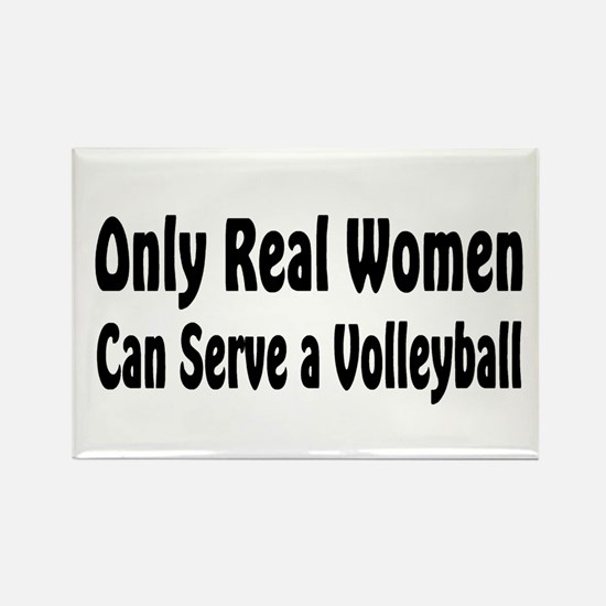 Volleyball Rectangle Magnet