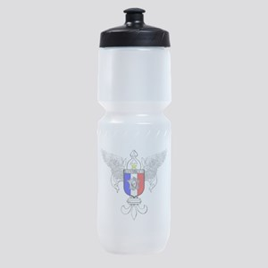 French Graphic Sports Bottle