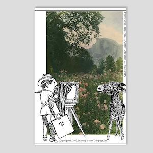 AC, Winkey & Primroses  Postcards (Package of 8)