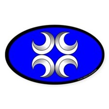 Caid Populace Oval Sticker (50 pk)