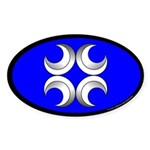 Caid Populace Oval Sticker (10 pk)